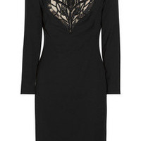 Alexander McQueen Beaded wool dress - 60% Off Now at THE OUTNET