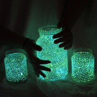 DIY Glowing jar project &amp;#8211; var?zslat a lak?sban (EN/HU)  from {panka} with love