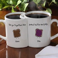 Personalized Mug Set - $25 | The Gadget Flow