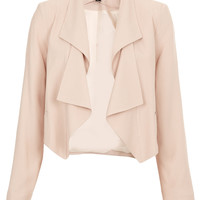Folded Lapel Crop Jacket - New In This Week - New In - Topshop