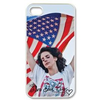 Amazon.com: Hot singer lana del rey Design Hard Back Case Decal Cover for iphone 4 4s: Electronics