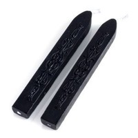 BARNES & NOBLE | Black Double Pack of Flexi Sealing Wax With Wick by Freund Mayer