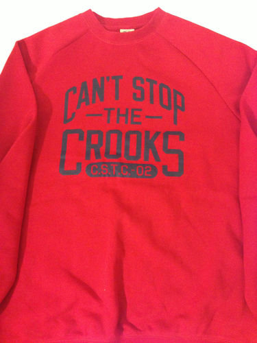 Crooks & Castles CSTC Crewneck Sweater Red