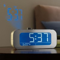 TimeSmart Self Setting Projection Clock at Brookstone—Buy Now!