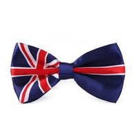 Amazon.com: HDE Bowtie - One Size - British Flag: Clothing
