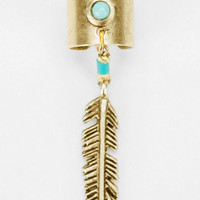 Urban Outfitters - Yuma Feather Cuff Earring