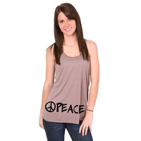 Peace Long Bella Flowy Tank