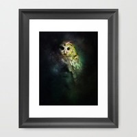 Owl Nebula Framed Art Print by Alex Tobler | Society6