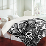 DENY Designs Home Accessories | Julia Da Rocha Wild Leaves Duvet Cover
