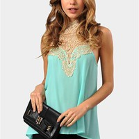 Cutting Edge Top - Mint