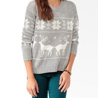 Relaxed Fair Isle Sweater | FOREVER21 - 2030186894