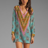 Tolani Katrina Hoodie Dress in Cylinders from REVOLVEclothing.com