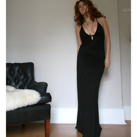 womens long nightgown with plunging