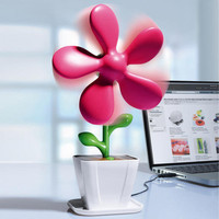 Flower Power Fan - The refreshing eye-catcher for your desk. - Pro-Idee Concept Store - new ideas from around the world