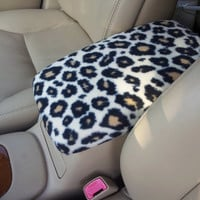 Center Console Cover CHEETAH Print for Lexus ES330 2004 2005 2006 CC2 Lid Cover