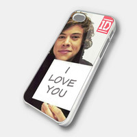 Harry Styles I Love You One Direction iPhone 5 by KEIMBOLSTORE