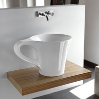 Coffee Cup Sink » Funny, Bizarre, Amazing Pictures & Videos