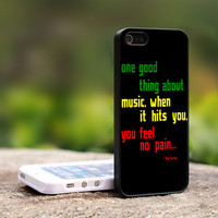 The Legend Bob Marley Quote  TCA B037  For iPhone by TheCustomArt