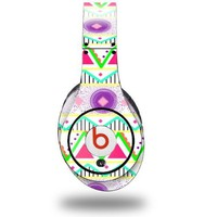 Kearas Tribal 1 Decal Style Skin (fits genuine Beats Studio Headphones - HEADPHONES NOT INCLUDED)