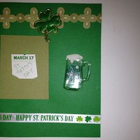 Handmade St. Patrick's Day Greeting Card 4x6