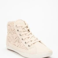 UrbanOutfitters.com &gt; UO Crocheted High-Top Sneaker