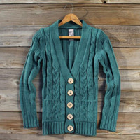 Cozy Fisherman's Sweater, Sweet Navajo Inspired Clothing