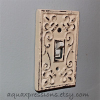 Bright Grape Decorative Light Switch Plate/ by AquaXpressions