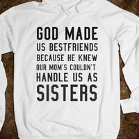 Bestfriends. IN MORE STYLES SUCH AS HOODIES, PULLOVER SWEATERS, TANK TOPS AND MORE  (CLICK BUY TO SEE)