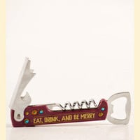Be Merry Corkscrew by Natural Life - Francesca's Collections