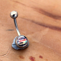 Mini Nutella Belly Navel Ring