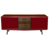 FIFTIES RED SIDEBOARD-  RED Edition