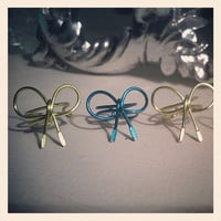 Bow Ear Cuff, Choose Your Color NEW COLORS