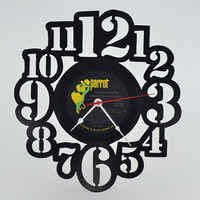Handcrafted Vinyl Record Clock (artist is Engelbert Humperdinck)