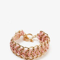 Woven Chain Toggle Bracelet | FOREVER 21 - 1023831028