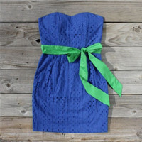 Something Blue Dress, Sweet Women's Country Clothing