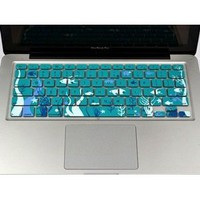 Amazon.com: Case Star Ocean series Aqua Blue Keyboard Silicone Cover Skin With The Seaweed And Fish Pattern for Macbook 13 Unibody / Macbook Pro 13 15 17 + Case Star Cellphone Bag: Computers & Accessories
