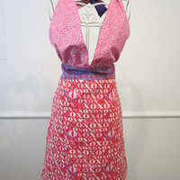 Valentine's Day Reversible Apron by LibbyandLee on Etsy