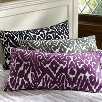 Urban Ikat Pillow Cover