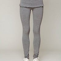 Free People Foldover Frill Legging