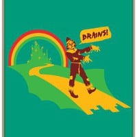 Product - The Zombie of Oz by Go Ape Shirts · Storenvy