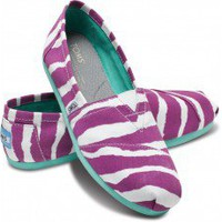 Purple Zebra Women&#x27;s Classics | TOMS.com