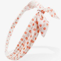Tied Polka Dot Headwrap | FOREVER 21 - 1035554121