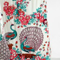 UrbanOutfitters.com &gt; Floral Peacock Shower Curtain