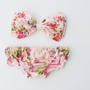 Vintage Bow Bandeau Sunsuit Bikini style DiVa by PitaPataDiVa