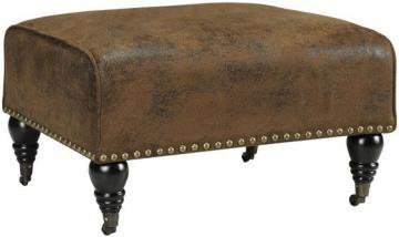 Lauren Ottoman - Ottomans - Living Room Furniture - Furniture | HomeDecorators.com