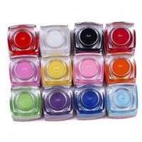 12 Color Acrylic UV Gel ...