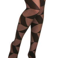 Angles Away Tights | Mod Retro Vintage Tights