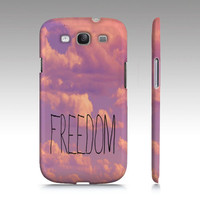 "Samsung Galaxy S3 Covers - iPhone 5,4,4s Case ""Freedom """
