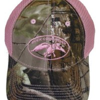 Amazon.com: Duck Commander ~ Laides Pink and Camo 2 Tone Mesh ~ Duck Hunting Hat Cap Dynasty: Clothing