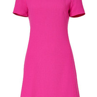 Goat - Hot Pink Roxanna Wool-Crepe Shift Dress